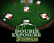Blackjack Double Exposure 3 Hand