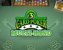 Multi Hand - 3 Card Poker